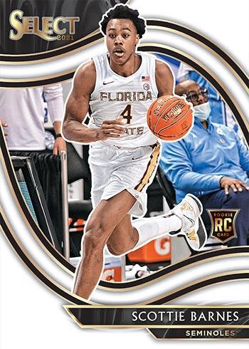 2021 Panini Chronicles Draft Picks Basketball Select Scottie Barnes