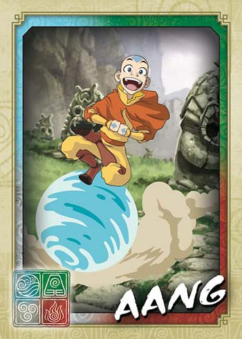 2021 Topps Avatar: The Last Airbender Aang