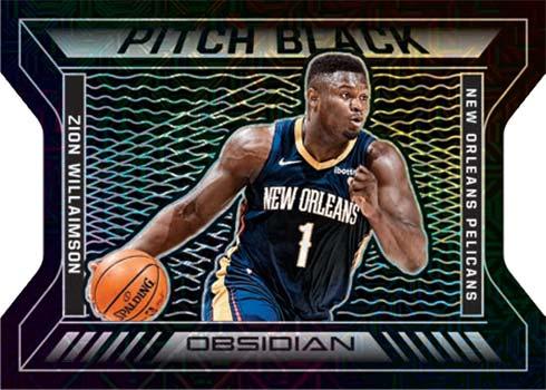 2020-21 Panini Obsidian Basketball Pitch Black Zion Williamson