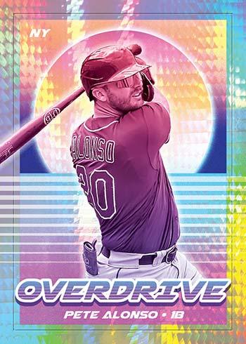 2021 Panini Chronicles Baseball Overdrive Pete Alonso