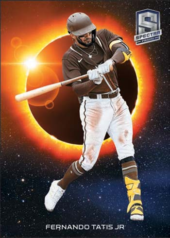 2021 Panini Spectra Baseball Solar Eclipse Fernando Tatis Jr.