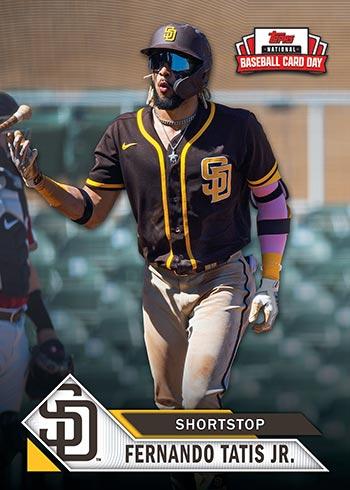 2021 Topps National Baseball Card Day Fernando Tatis Jr.