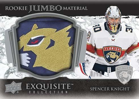 2021-22 Upper Deck Exquisite Hockey Rookie Jumbo Materials