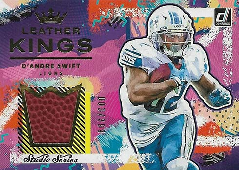 2021 Donruss Football Leather Kings D'Andre Swift