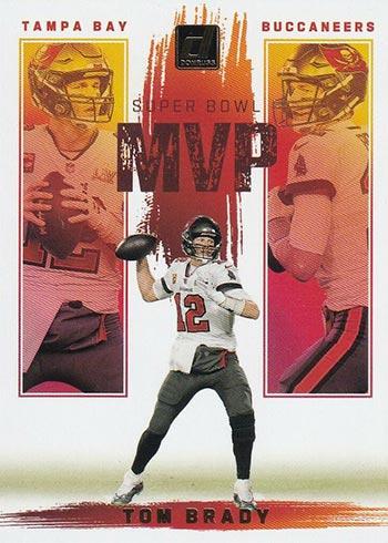 2021 Donruss Football Super Bowl MVP Tom Brady