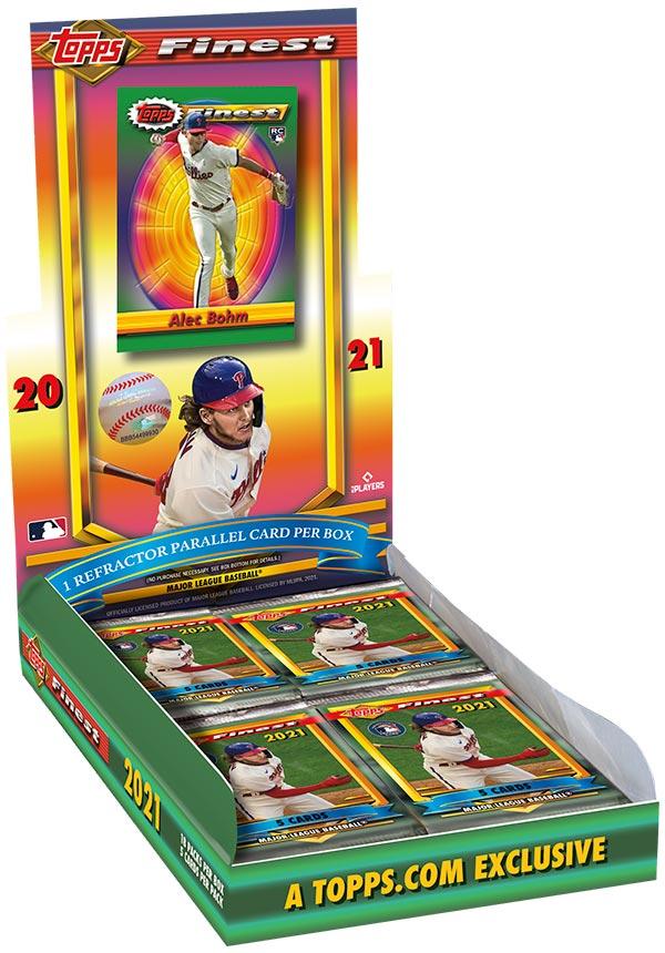 2021 Topps Finest Flashbacks Baseball Box