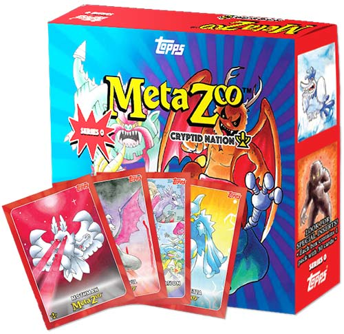 2021 Topps MetaZoo Cryptid Nation Series 0 Pack