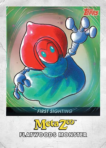 2021 Topps MetaZoo Cryptid Nation Series 0 First Sighting