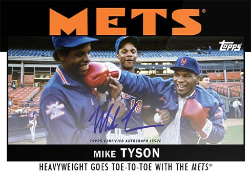 2021 Tpops x ESPN Once Upon a Time in Queens Mike Tyson Autograph