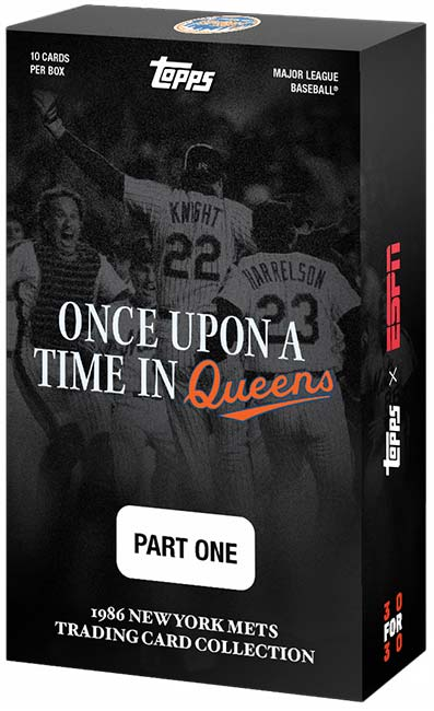 2021 Topps x ESPN 30for30 Once Upon a Time in Queens Box